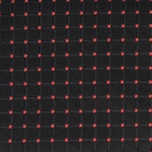 """Vyriškas kaklaraištis """"Juodi langučiai""""  J01"""