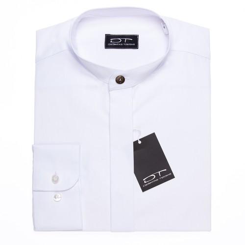 Balti vyriški marškiniai su stove