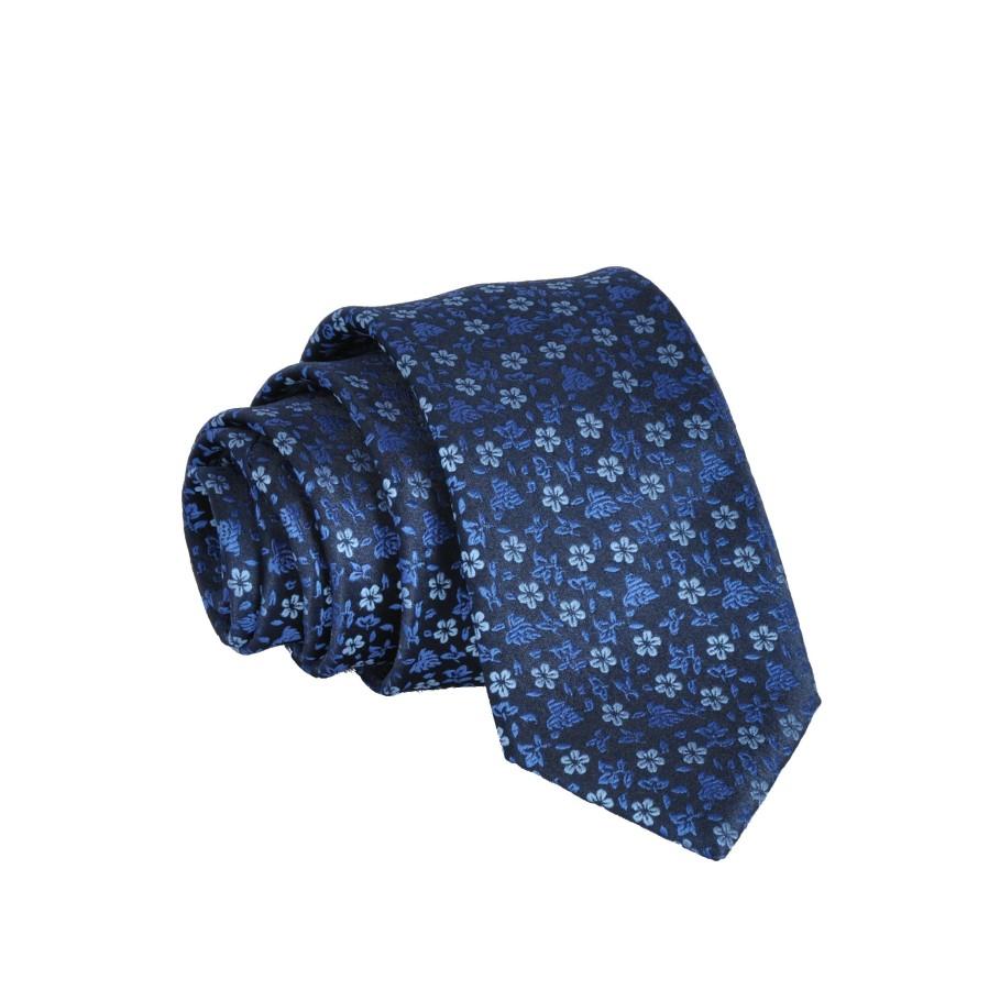 """Men's tie """"Blue meadow""""  M02"""