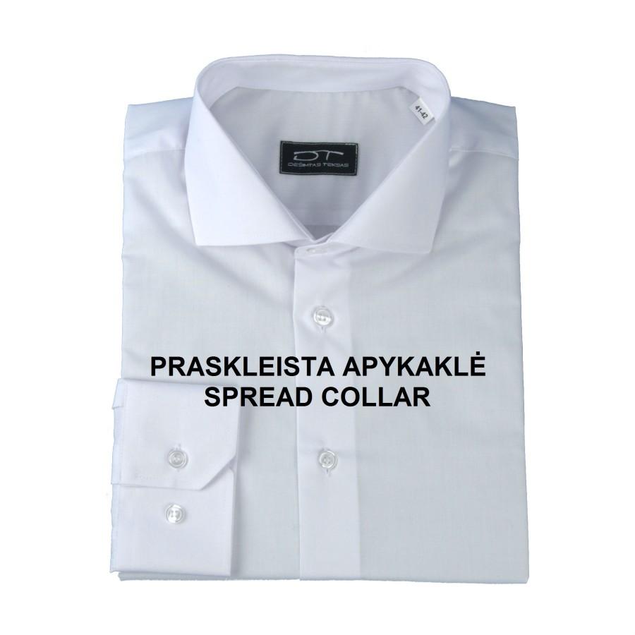 Pale blue classic fit dress shirt OXFORD 01