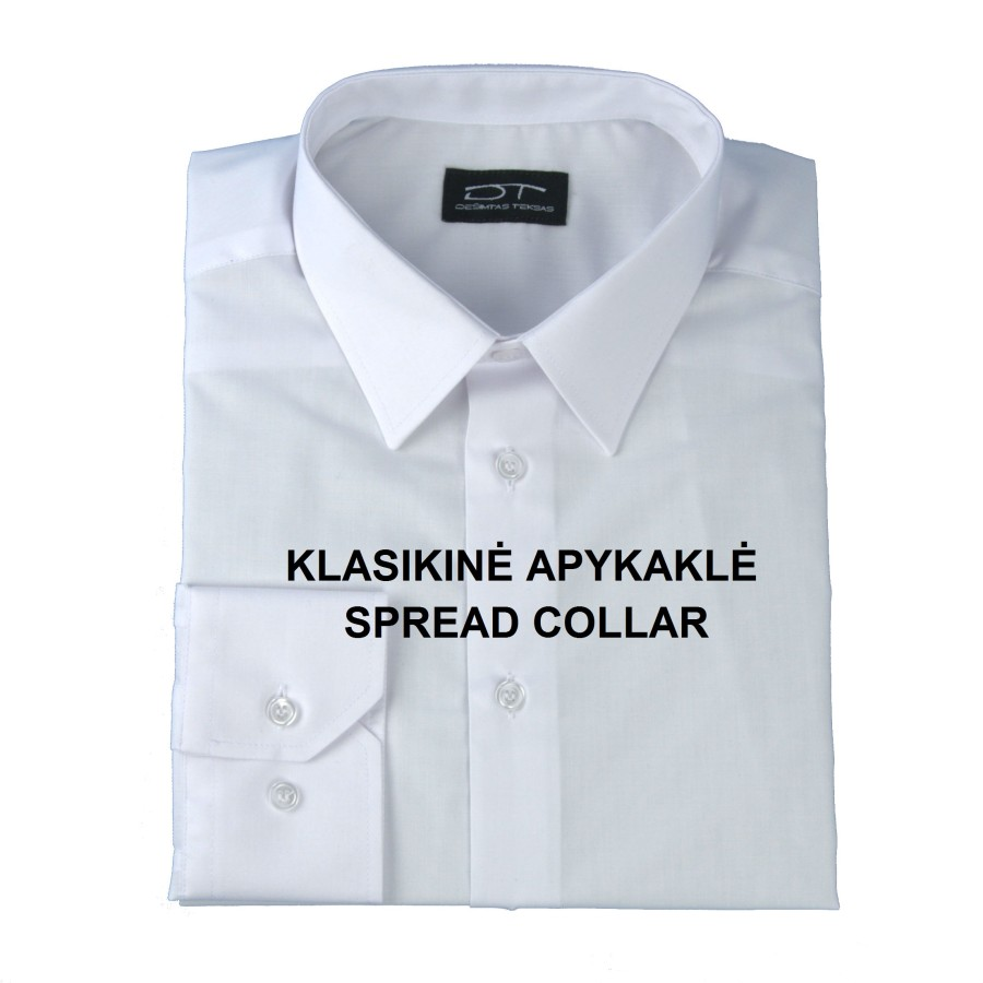Navy dress shirt with long sleeves 1853