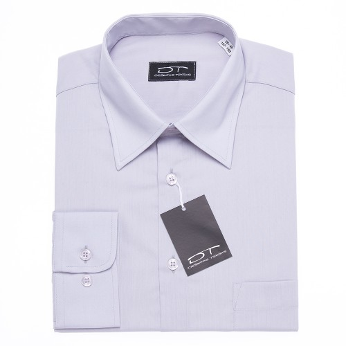 Šviesiai pilki vyriški marškiniai 1135
