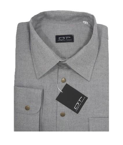 Pilkos spalvos vyriški marškiniai Montana Nr.91